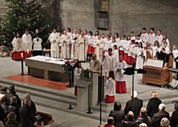 Jahresabschlussgottesdienst imt Bischof Gebhard Fürst. Foto: Berthold Hildebrand