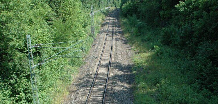 Seit bald 70 Jahren eingleisig: Gäubahn bei Rottweil. Archiv-Foto: him