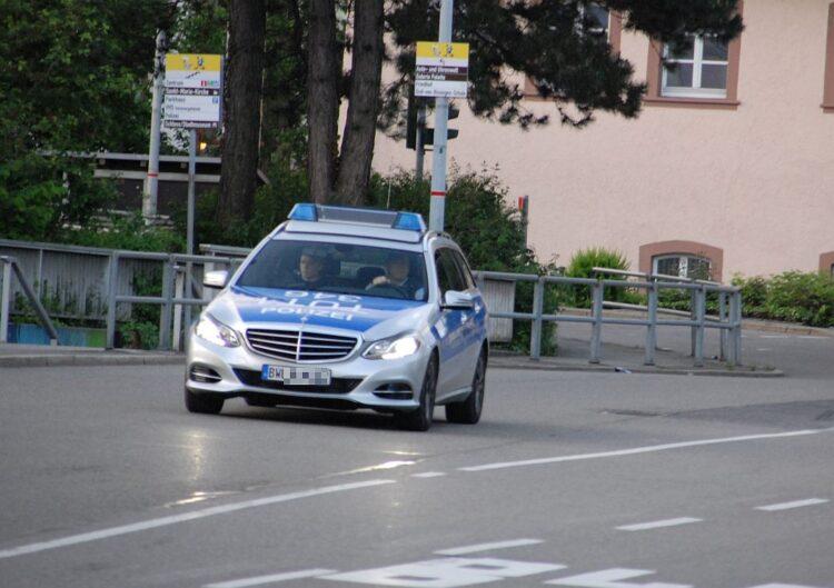 Polizeieinsatz. Symbolfoto: him