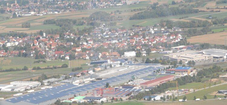Waldmösssingen aus der Luft. Archiv-Foto:  him