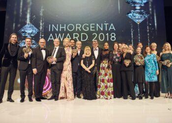 Fachjury und Gewinner des Inhorgenta Award 2018. Foto: Wackerbauer