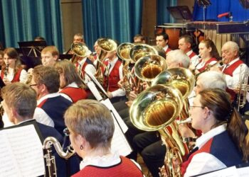 Der Musikverein Harmonie Tennenbronn beim Frühjahrskonzert. Foto: pm