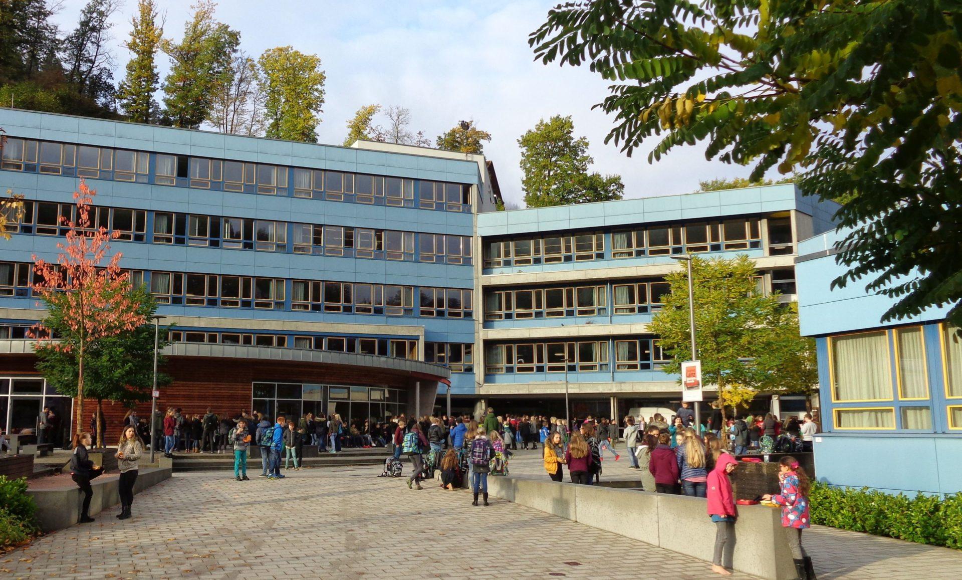 Gymnasium Schramberg. Archiv-Foto: him