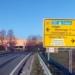 Auffahrt von der B 14 aus Richtung Tuttlingen zur Saline: Statt der Einmündung mit Links- und Rechtsabbiegern soll hier ein Kreisverkehr gebaut werden.