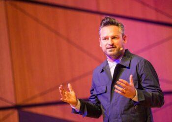 Hauptredner bei IHK-Neujahrstreff 2019 in den Messehallen in VS-Schwenningen wird Dr. Frederik G. Pferdt, Leitfigur für Innovation und Kreativität und Adjunct Professor an der Stanford University, sein.  Foto: privat