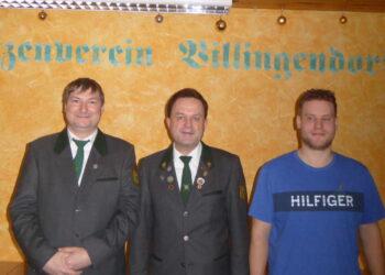 Von links:  Simon Lutz, Armin Grimm und Simon Flaig. Foto: pm