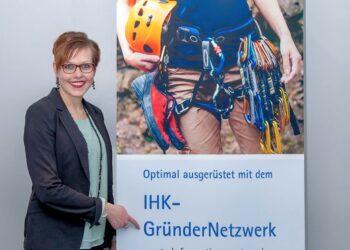 IHK-Gründungsberaterin Marlene Hauser vernetzt die regionalen Gründer und Jungunternehmer. Foto: pm