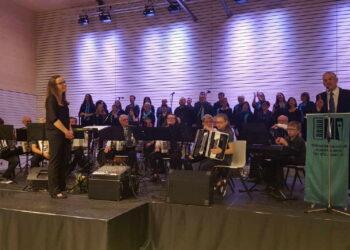 DerHandharmonika-Club Göllsdorf hatte zum Jahreskonzert eingeladen. Foto: Kohler