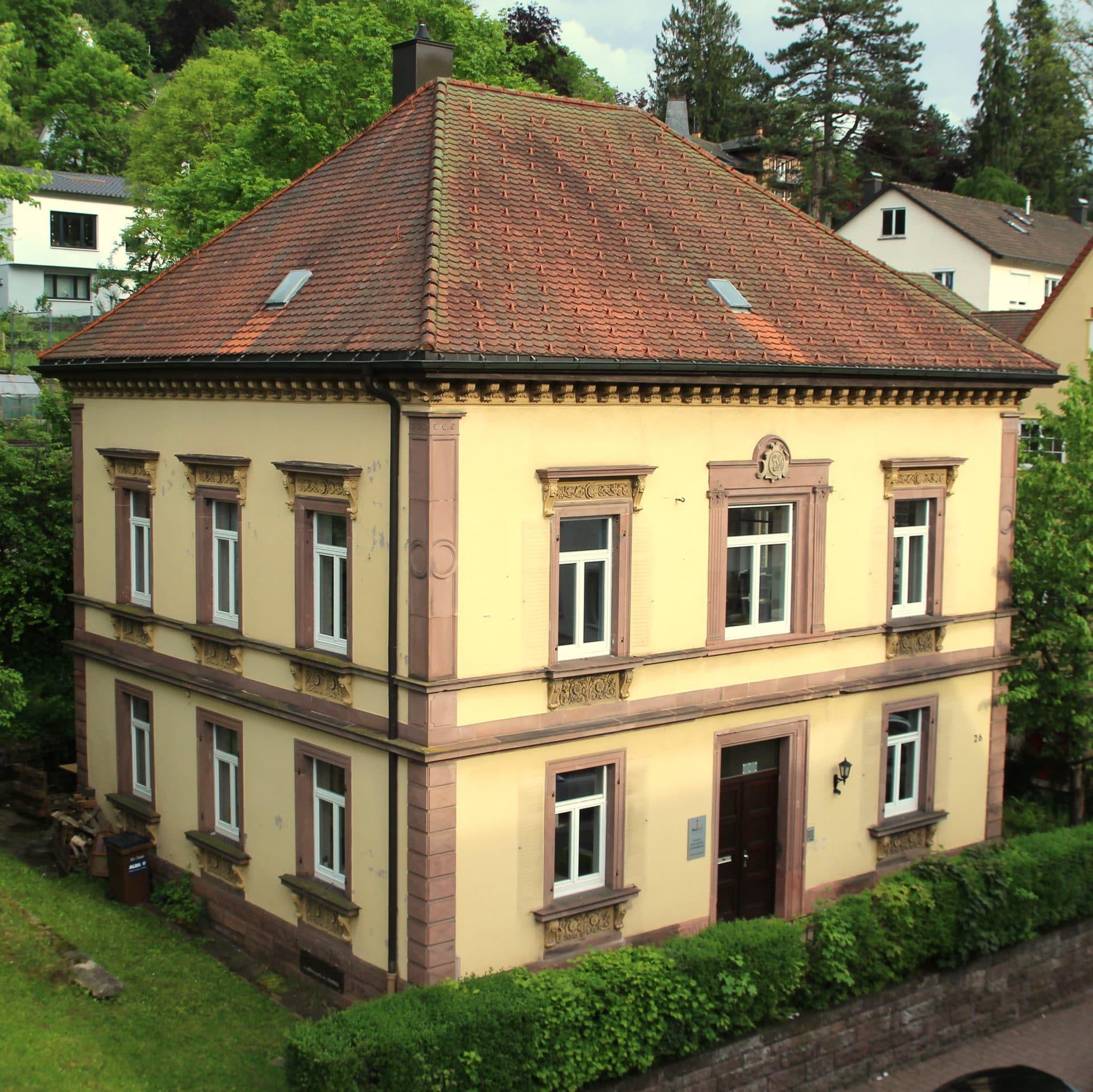 Das ehemalige Evangelische Pfarrhaus. Foto: Kirchengemeinde