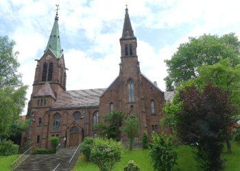 Die evangelische Stadtkiche in Schramberg. Foto: him