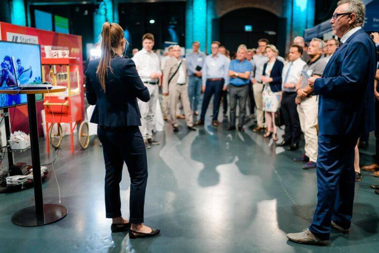 :  Schwarzwald-Baar-Heuberg hat den Zuschlag erhalten: Das begehrte Popup Labor BW, eine Veranstaltung für Unternehmen zu Neuem rund um die Digitalisierung, kommt nach Schramberg. Das Foto ist bei einer früheren veranstaltung entstanden. Foto: Ludmilla Parsyak