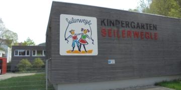 Kindergarten Seilerwegle. Foto: him