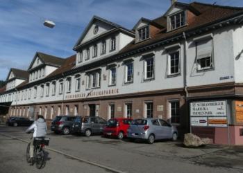Der Vortrag über die Geschichte dieses Gebäudes wird verschoben. Foto: him