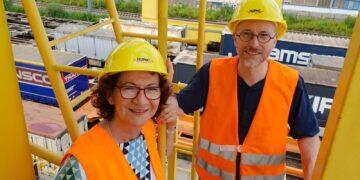 Dorothea Wehinger und Matthias Gastel. Foto: pm