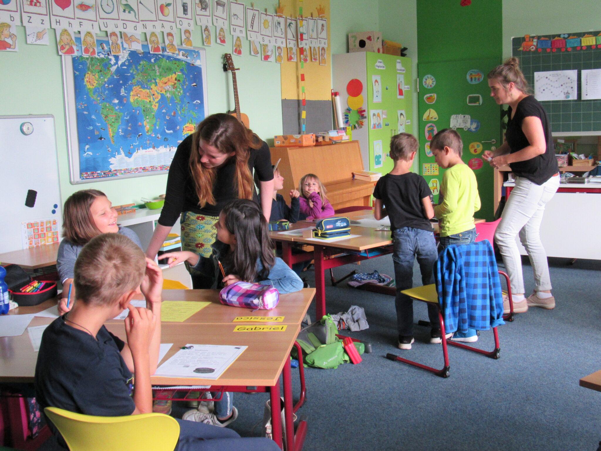 25 Schülerinnen und Schüler nehmen in Villingendorf das Angebot der Lernbrücke wahr. Foto: pm