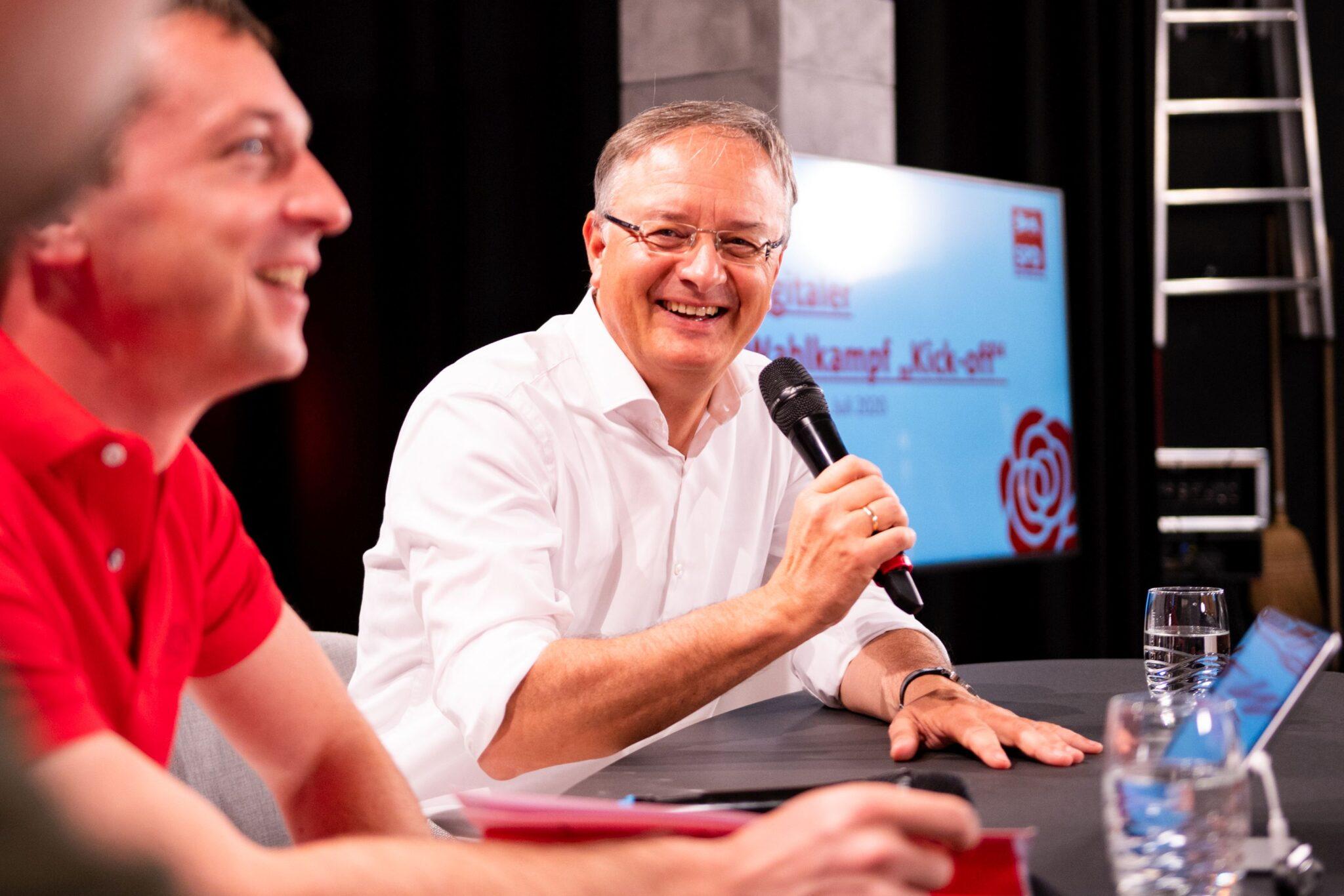 Andreas Stoch freut sich auf Diskussionen. Foto: pm