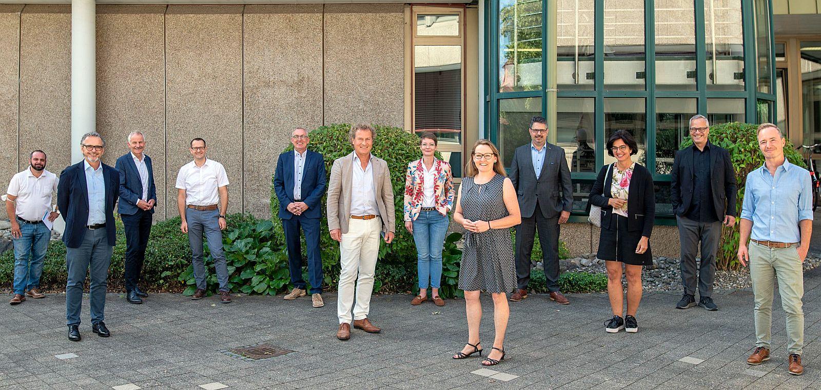 BU: Besuch aus Stuttgart: Andreas Braun (2. von rechts), Geschäftsführer der Tourismus Marketing GmbH Baden-Württemberg (TMBW), zu Gast beim IHK-Tourismusausschuss in Villingen-Schwenningen. Foto: pm