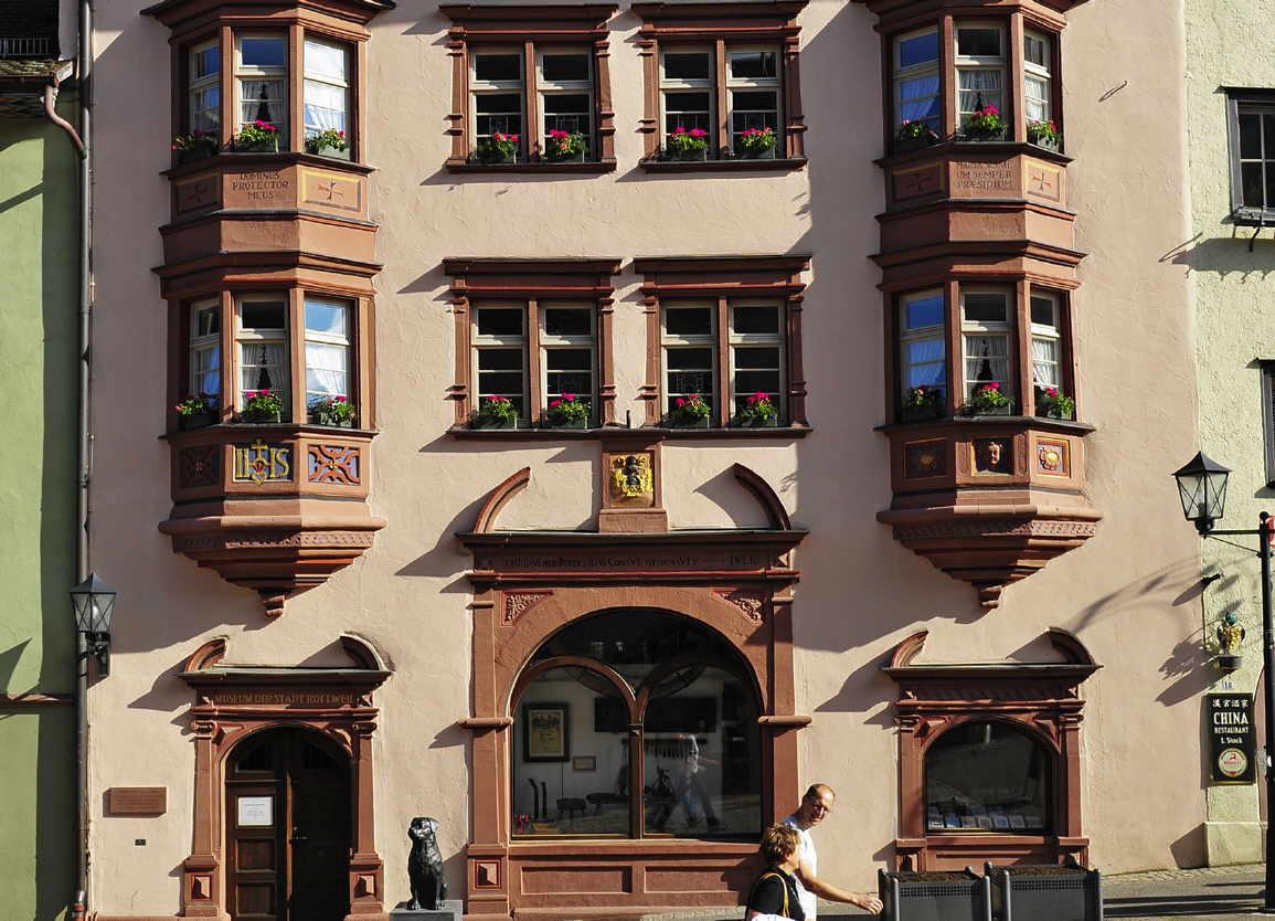 Wegen Umbauarbeiten wird die Tourist-Information kurzfristig geschlossen und ist vom 4. bis 23. Oktober dann im Stadtmuseum zu finden. Archiv-Foto: Stadt Rottwei