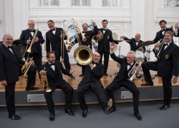 Das große Bblechbläserensemble des Landespolizeiorchesters kommt am 20. September nach Schramberg. Foto: pm