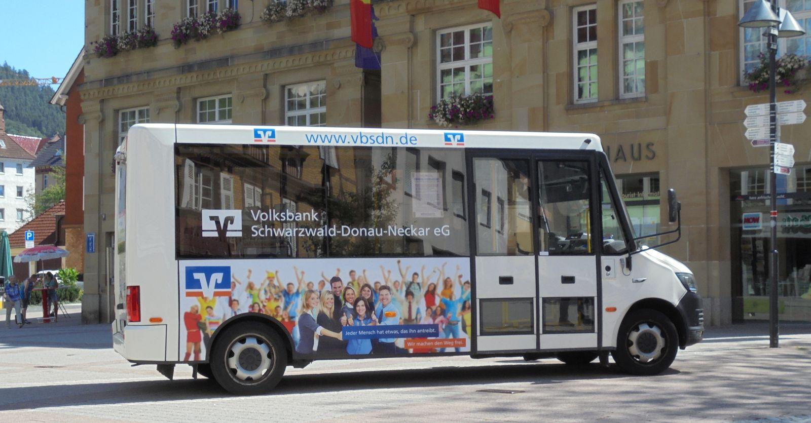 Der Schramberger Bürgerbus. Foto: him