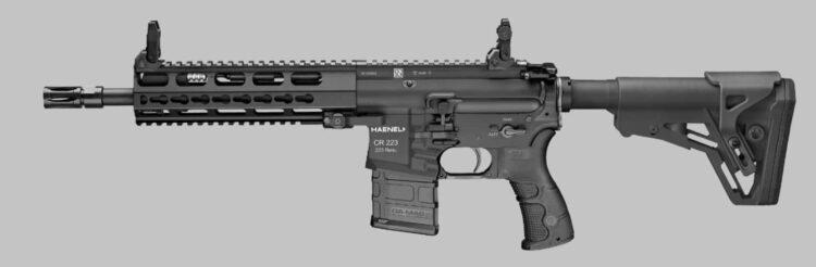 CR223 von Haenel ein HK416 Clon?  Foto: Haenel homepage