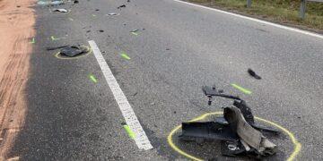 Die Unfallstelle. Foto: gg