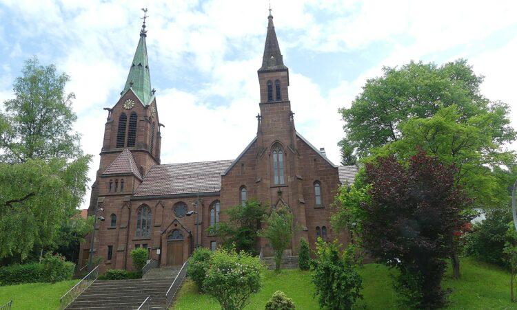 Die evangelische Stadtkirche in Schramberg. Foto: Archiv