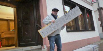 :  Thomas Klukas richtet sich in der Alten Apotheke in der Marktstraße ein.       Fotos: him