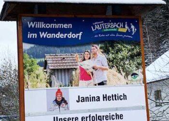 Die Gemeinde Lauterbach ist stolz auf ihre Spitzen-Athletin. Foto: Gemeinde