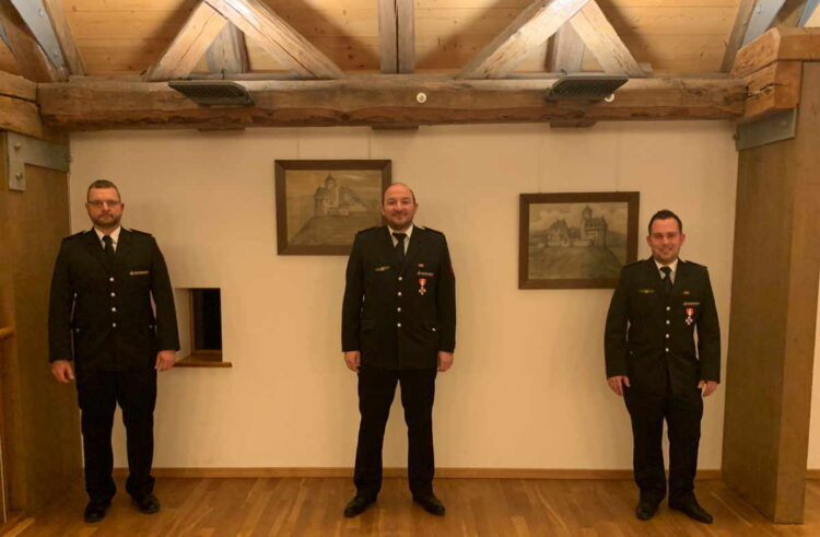 Von links: Olaf Lutzkat, Andreas Herter und Michael Majer. Foto: fw