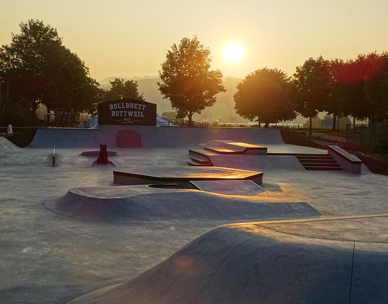 Der Skatepark muss derzeit so leer sein wie auf dem Foto. Er ist Corona bedingt wieder gesperrt. Foto: W. Schwenk, rottweil.net