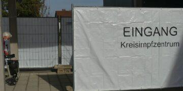 Kreisimpfzentrum in Rottweil. Foto: him