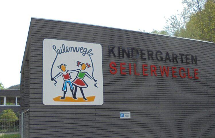 Der städtische Kindergarten Seilerwegle. Archiv-Foto: him