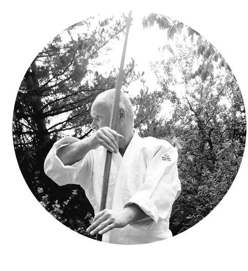 Norbert Schmitt, Berührungsfreies Aikido. Foto: Norbert Schmitt