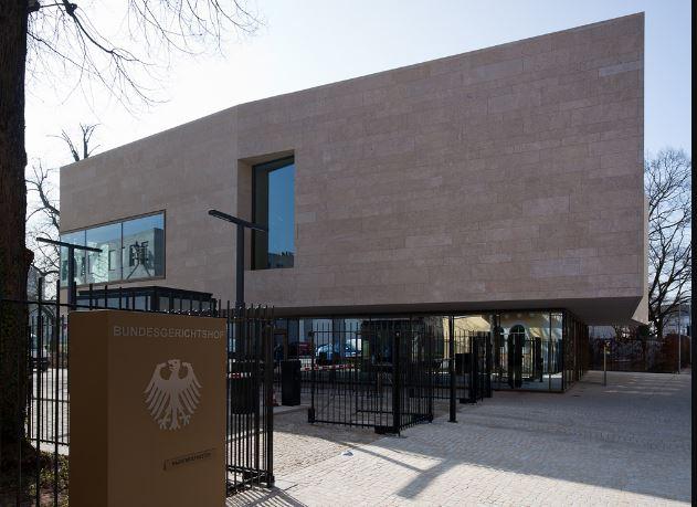 Bundesgerichtshof in Karlsruhe. Foto: Nikolay Kazakov