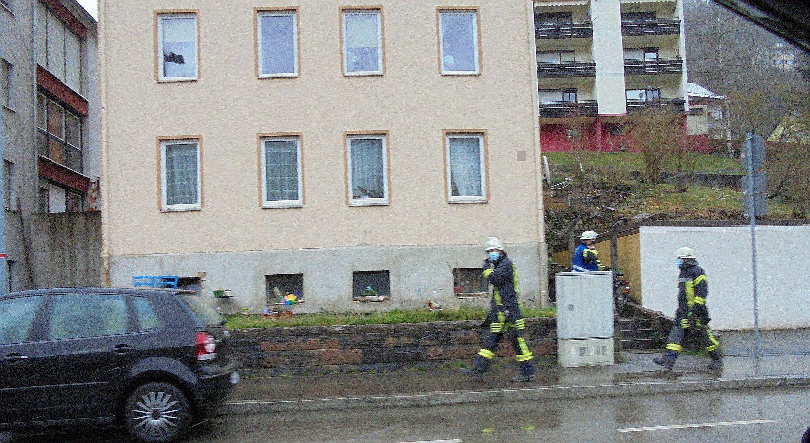 Auf dem Weg zum  defekten Gasboiler. Foto: him