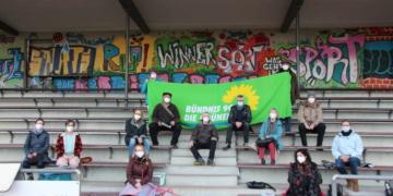 Die Kreismitgliederversammlung der Grünen fand im Rottweiler Stadion statt. Foto: Moni Marcel