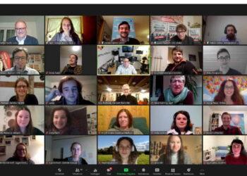 Das KiJu hat eine digitale Jugendkonferenz zur Landtagswahl angeboten. Rund 70 Jugendliche nutzten die Chance, mit den Kandidierenden in den direkten Austausch zu treten. Screenshot: Uli Sailer