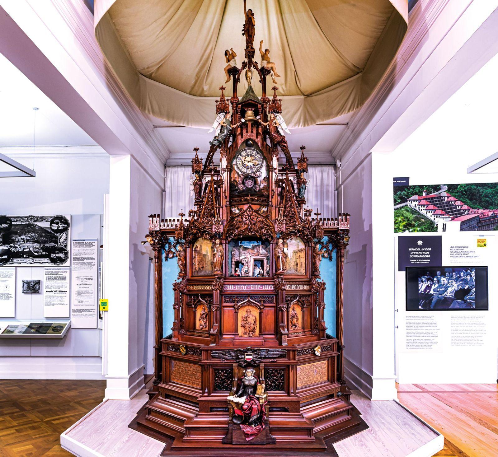 Die Schramberger Kunstuhr im Stadtmuseum. Foto: pm