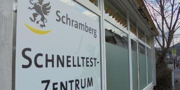 Das Schnelltestzentrum in der Berneckstraße Foto: him