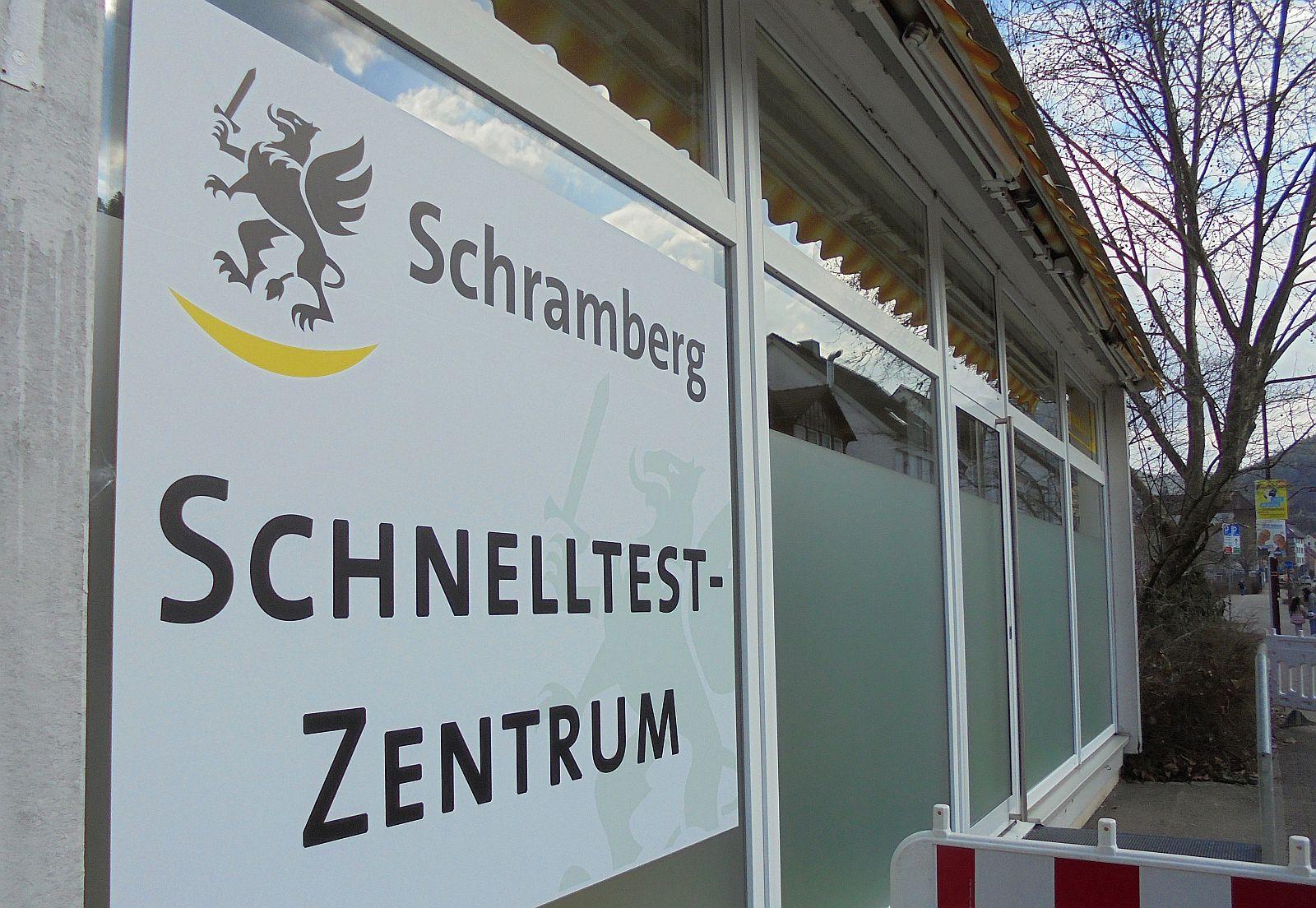 Das Schnelltestzentrum in der Berneckstraße schließt Ende des Monats. Foto: him