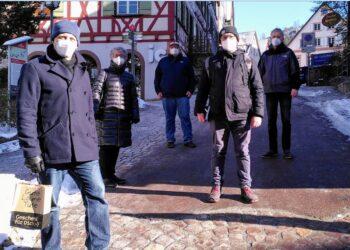 Beim Stadtrundgang in Schiltach. Foto: pm