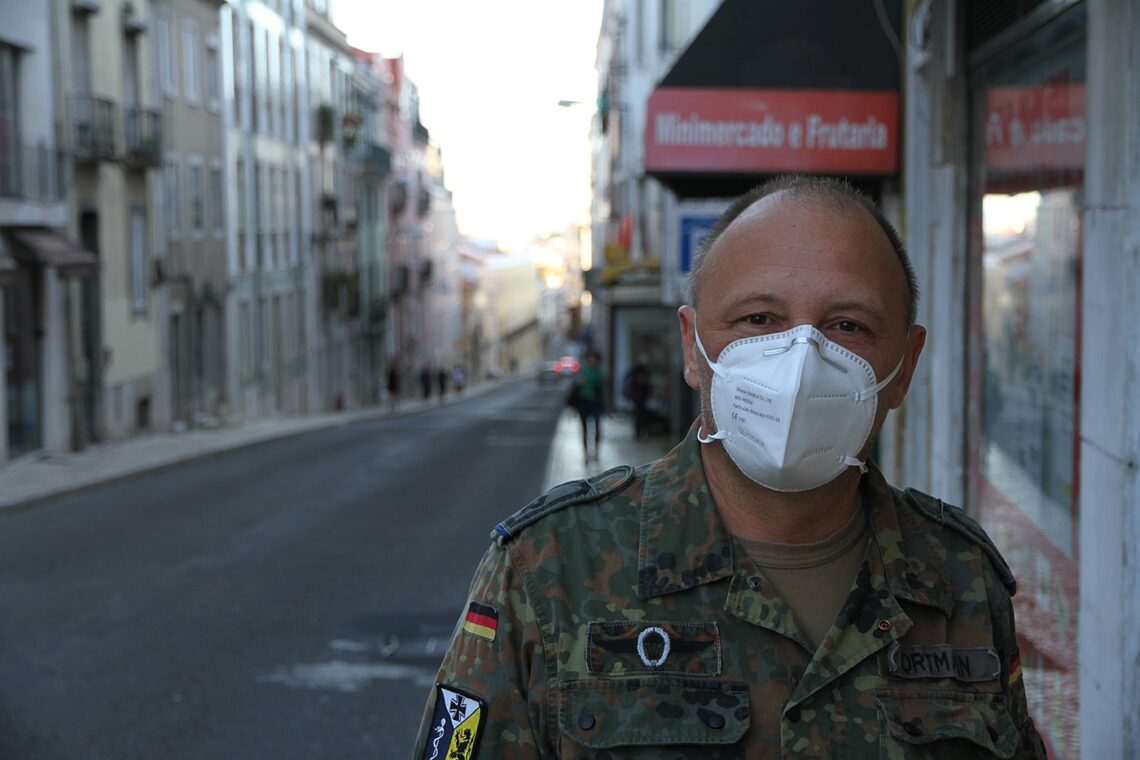 Mit der Bundeswehr in Lissabon: Holger Ortmann. Foto: pm