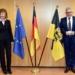 Statt einer offiziellen Amtseinführung wurde die neue Leitende Oberstaatsanwältin Sabine Mayländer im Dezember von Justizminister Guido Wolf der Presse vorgestellt. Archiv-Foto: wede