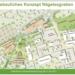 So sehen die Planer die mögliche Entwicklung: Linien- und Reisebusse vor das Parkhaus, dafür an neben das Wohn- und Geschäftshaus ein neues Parkhaus. Grafik: Stadt