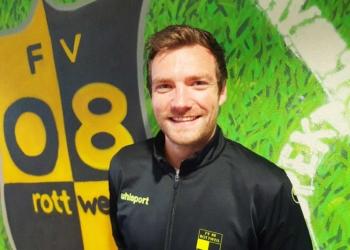 Ein Nullachter von Anfang an: Simon Kläger wird Co-Trainer des Bezirksligisten FV 08 Rottweil. Foto: pm.