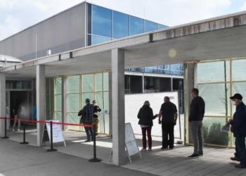 Kreisimpfzentrum in der Rottweiler Stadthalle. Archiv-Foto: wede