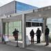Kreisimpfzentrum in der Rottweiler Stadthalle: Fast jeder zweite, der hier geimpft wurde, kommt aus einem anderen Landkreis. Archiv-Foto: wede