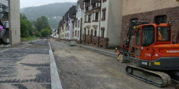 Im letzten Jahr sanierte eine Baufirma die Obere Tösstraße. Archiv-Foto: him