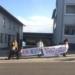 Friedlicher Protest, nur wenige verstoßen gegen die Auflagen: Montagsdemo in Dunningen. Foto: Fritz Rudolf